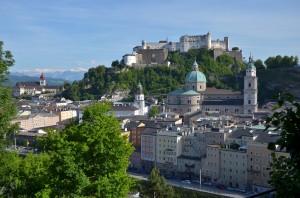 Salzburg - Die bekannte Mozartstadt