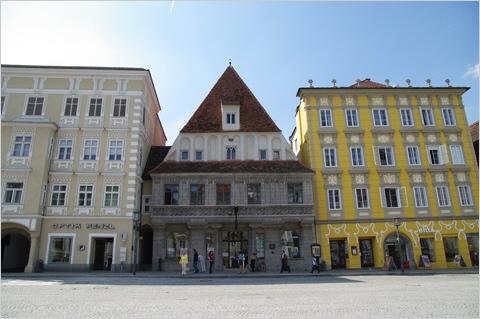 Steyr - Gotisches Bummerlhaus (Mitte)
